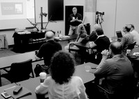 "Peter Krogh teaching workshop ""Digitizing Your Photos - Rapid Hi"
